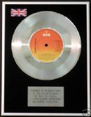 "BARBRA STREISAND - 7"" Platinum Disc - YOU DON'T HAVE TO BRING - Special Sale Offer !"